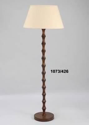 LAMPARA PIE COCO MARFIL