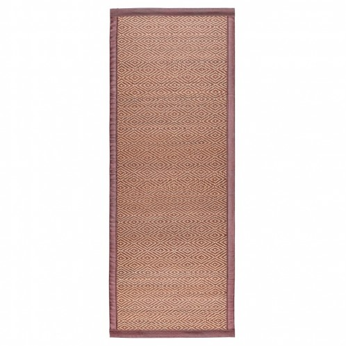 Alfombra bambú marrón