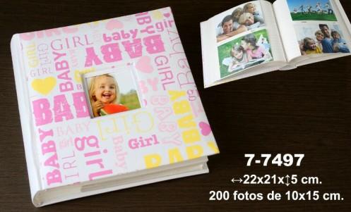 Álbum fotos infantil