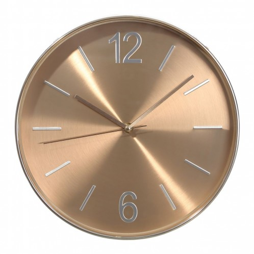 Reloj pared oro