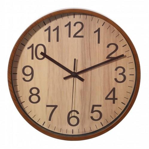 Reloj pared marrón