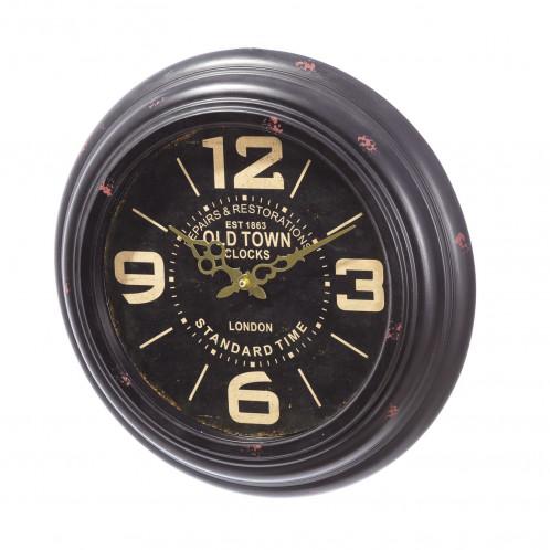 Reloj pared metal