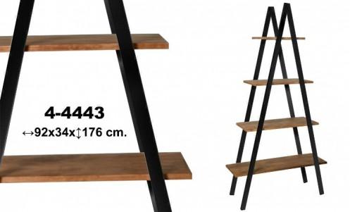 Estanteria triangular madera