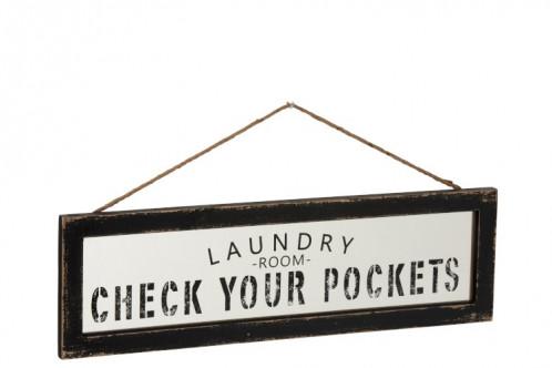 Cartel decoracion Laundry