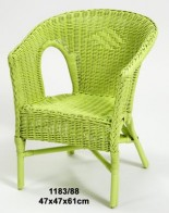 SILLA MINI KID VERDE MANZANA