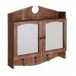Armario con espejo madera