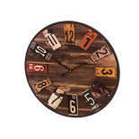 Reloj pared marron