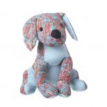 Sujetapuertas perro azul
