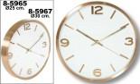 Reloj pared aluminio
