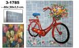 Cuadro lienzo bici