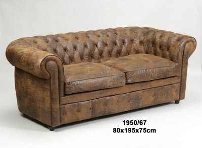 SOFA 3 PZAS CHESTERFIELD