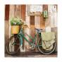 Cuadro impresión lienzo bici