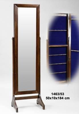 Comprar online espejo joyero de pie madera for Espejos de pie precios